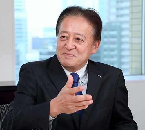 執行役員 オートパーツ営業本部副本部長 兼 統括営業部長 浜潟幸喜(Hamagata Koki)