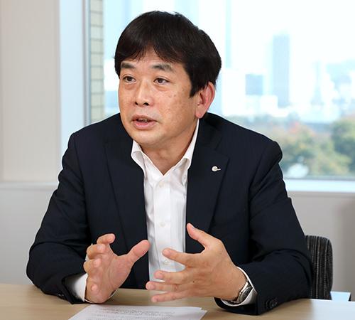 取締役常務執行役員 企画管理本部長 塩田英俊(Shiota hidetoshi)