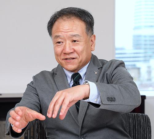 執行役員 技術本部長 井上安弘(Inoue Yasuhiro)