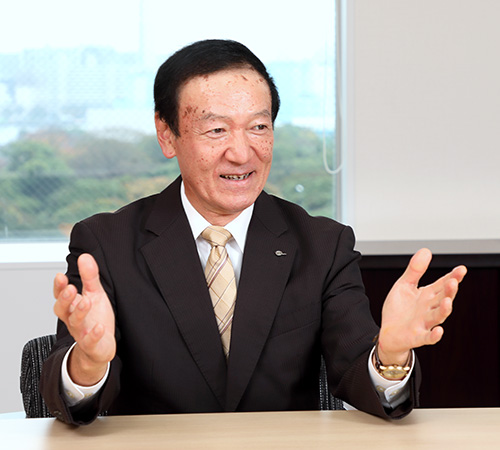 代表取締役社長の中嶋 達朗